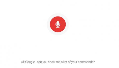 Lista comandi google inglese