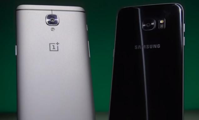 OnePlus 3 vs Samsung Galaxy S7 edge: velocità a confronto in video
