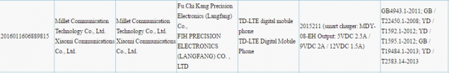 xiaomi-flagship-phone-3c-certification