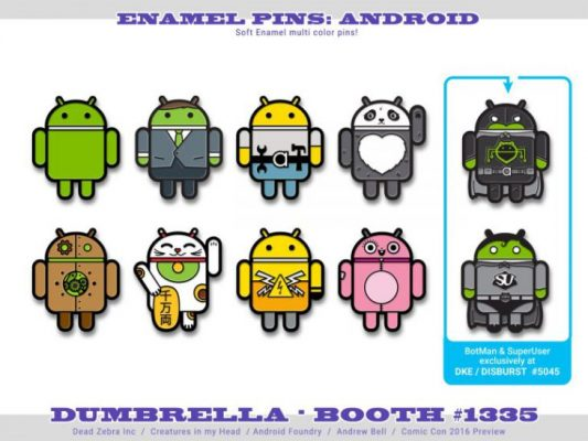 AndroidPins