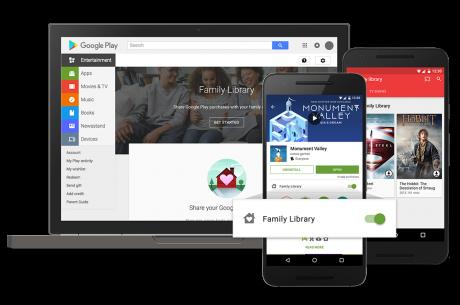 GoogleFamily Library
