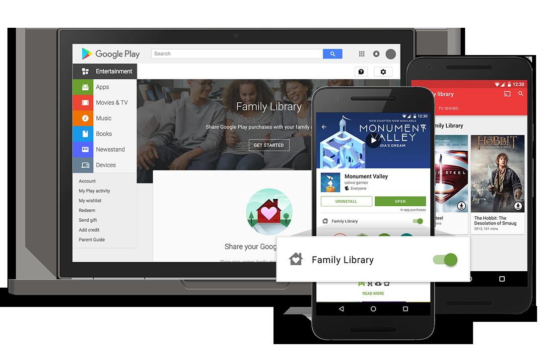 Google Play Famiglia è finalmente disponibile (Italia compresa)