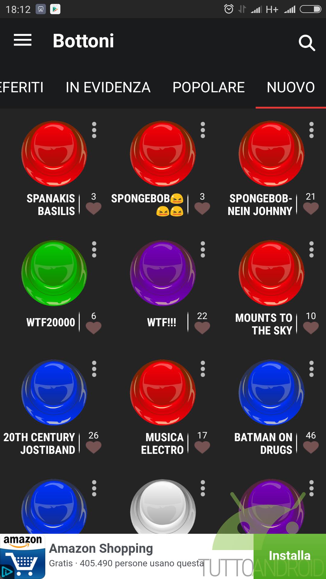 Instant Buttons, un generatore di suoni divertenti per ogni