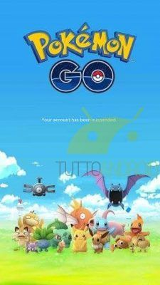 Pokémon GO account bannato 2