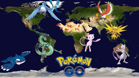 Pokemon go luoghi