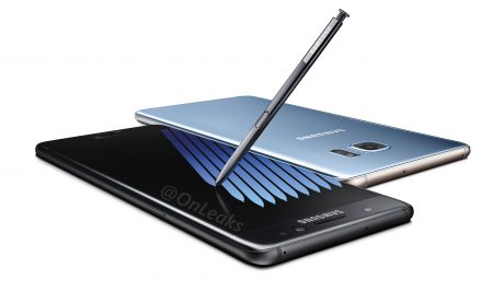 Samsung Galaxy Note7 Press