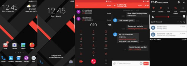 Samsung-Galaxy-Theme-Kendi-Material-Red