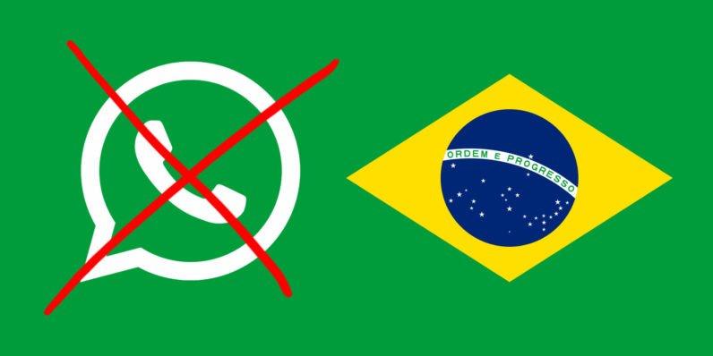 Brasile, WhatsApp bloccato in tutto il Paese
