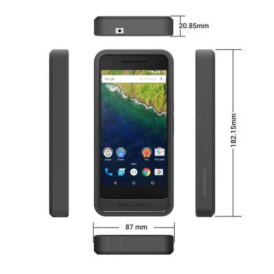 ZeroLemon custodia Nexus 6P dimensioni