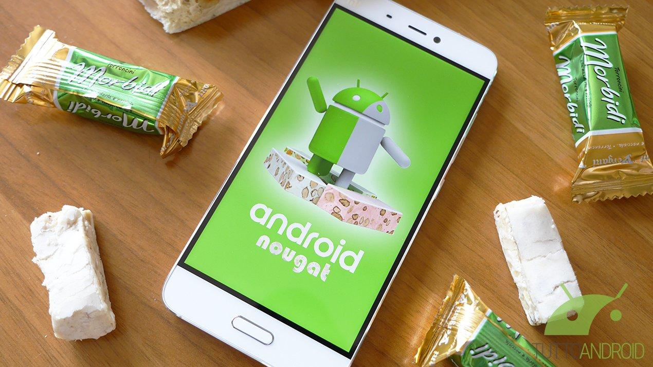 Tutte le novità di Android 7.1 Nougat nel changelog integrale