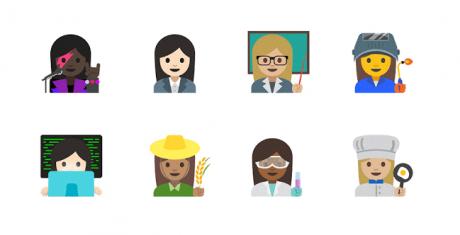 Emoji femminili