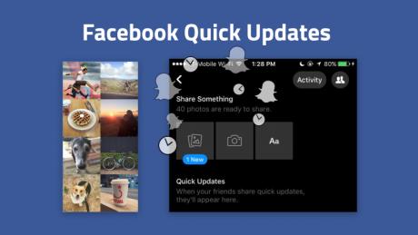 Fb quick updates