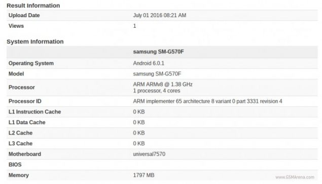 galaxy-on5-benchmark