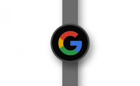 Google angelfish smartwatch render
