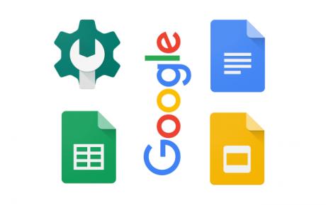 Google documenti fogli presentazioni console