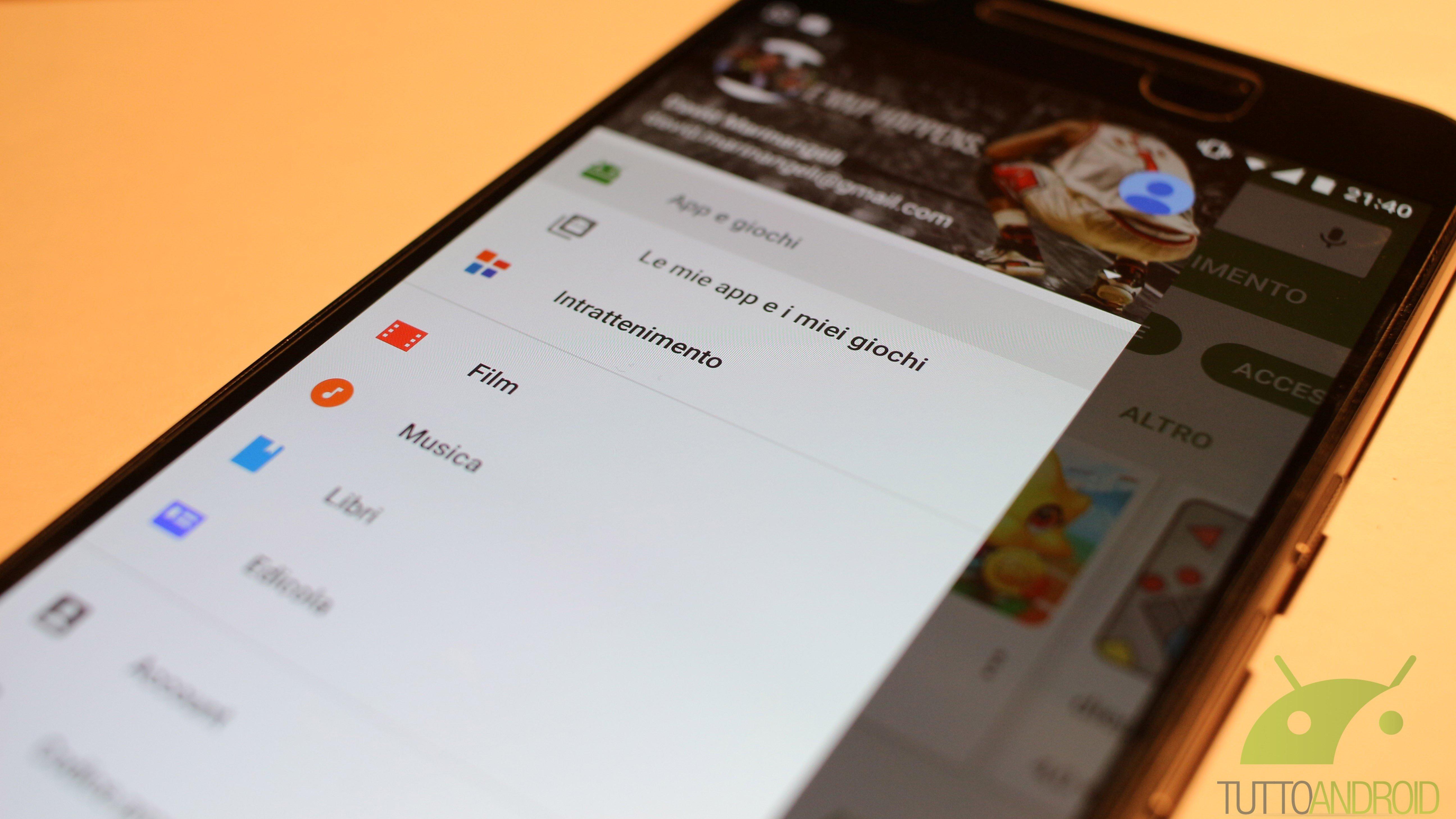 Google sta testando numerose novità grafiche per il Play Store