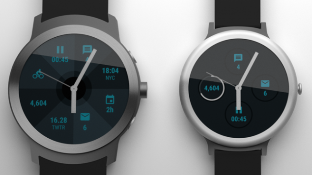Google: due nuovi smartwatch Android Wear nel 2017