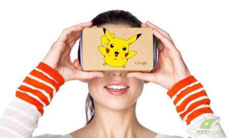 Pokemon go google cardboard