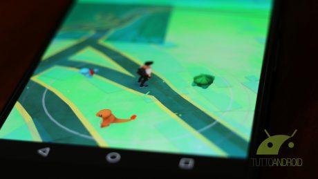 Pokemon go map charmender