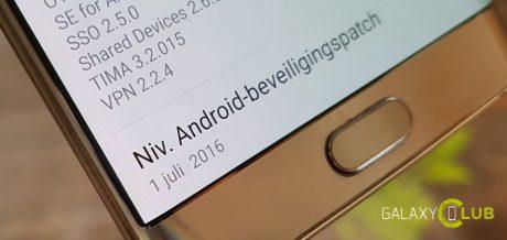 Samsung juli security patch