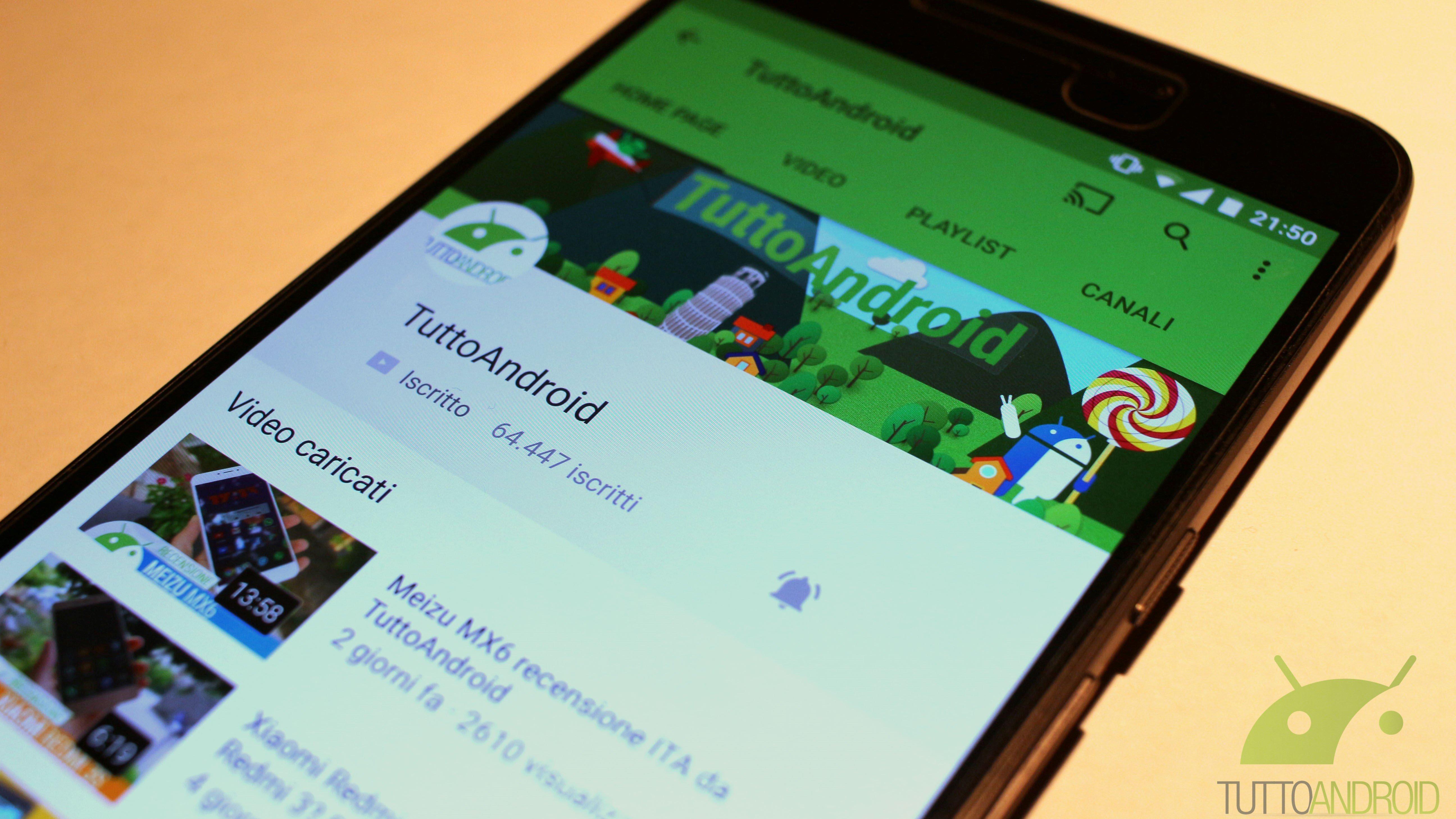youtube app Android a schermo intero   mokancide ga