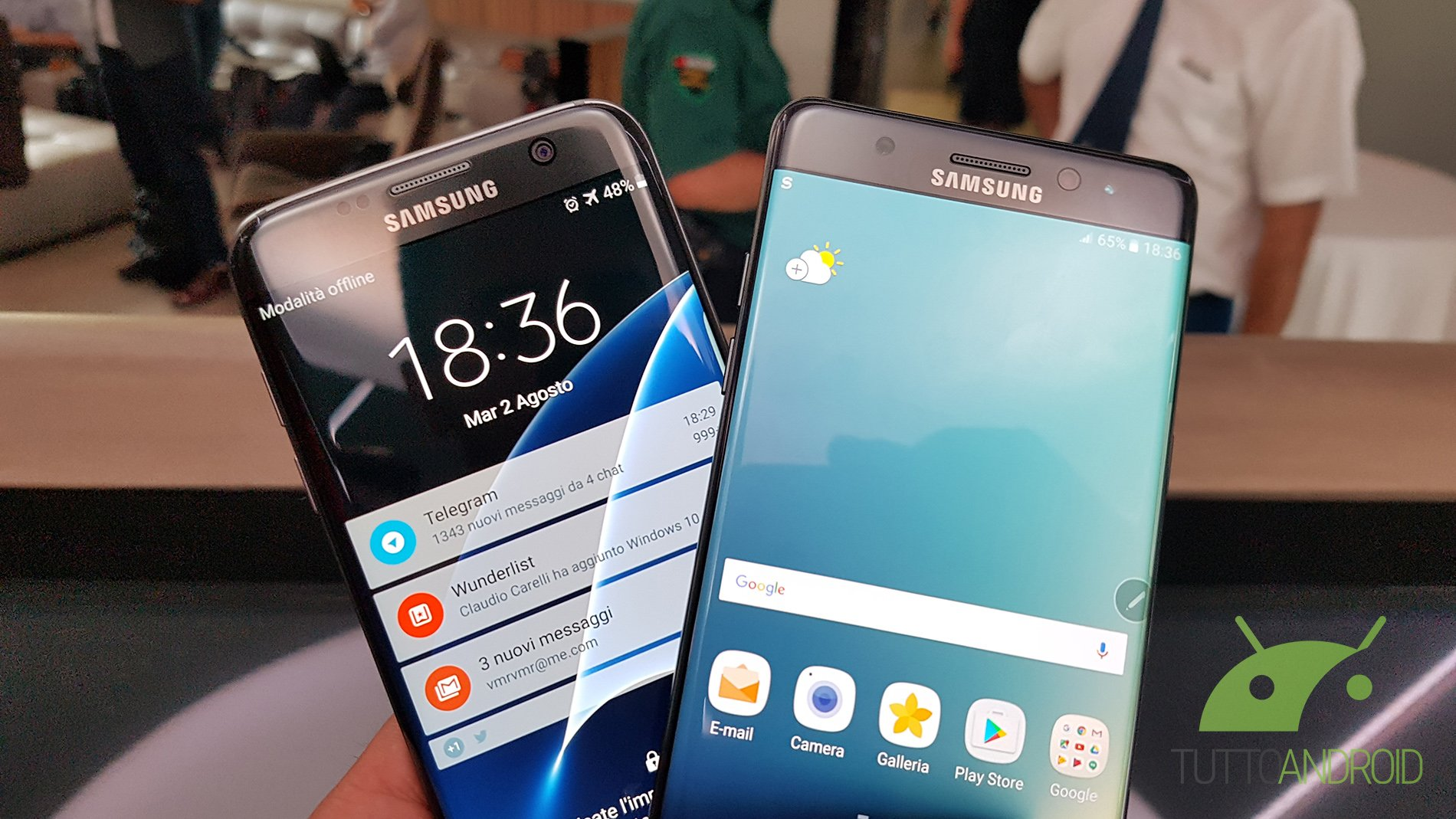 Note 7 edge quotes for facebook