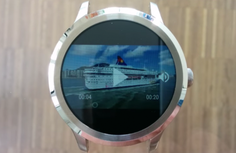 Appfour video player android wear