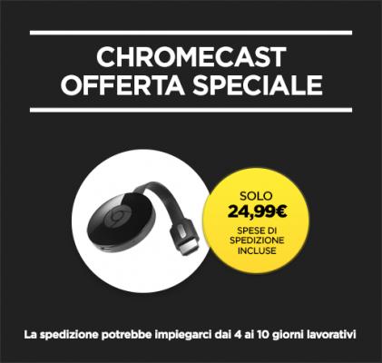 Chromecast 2015 24.99