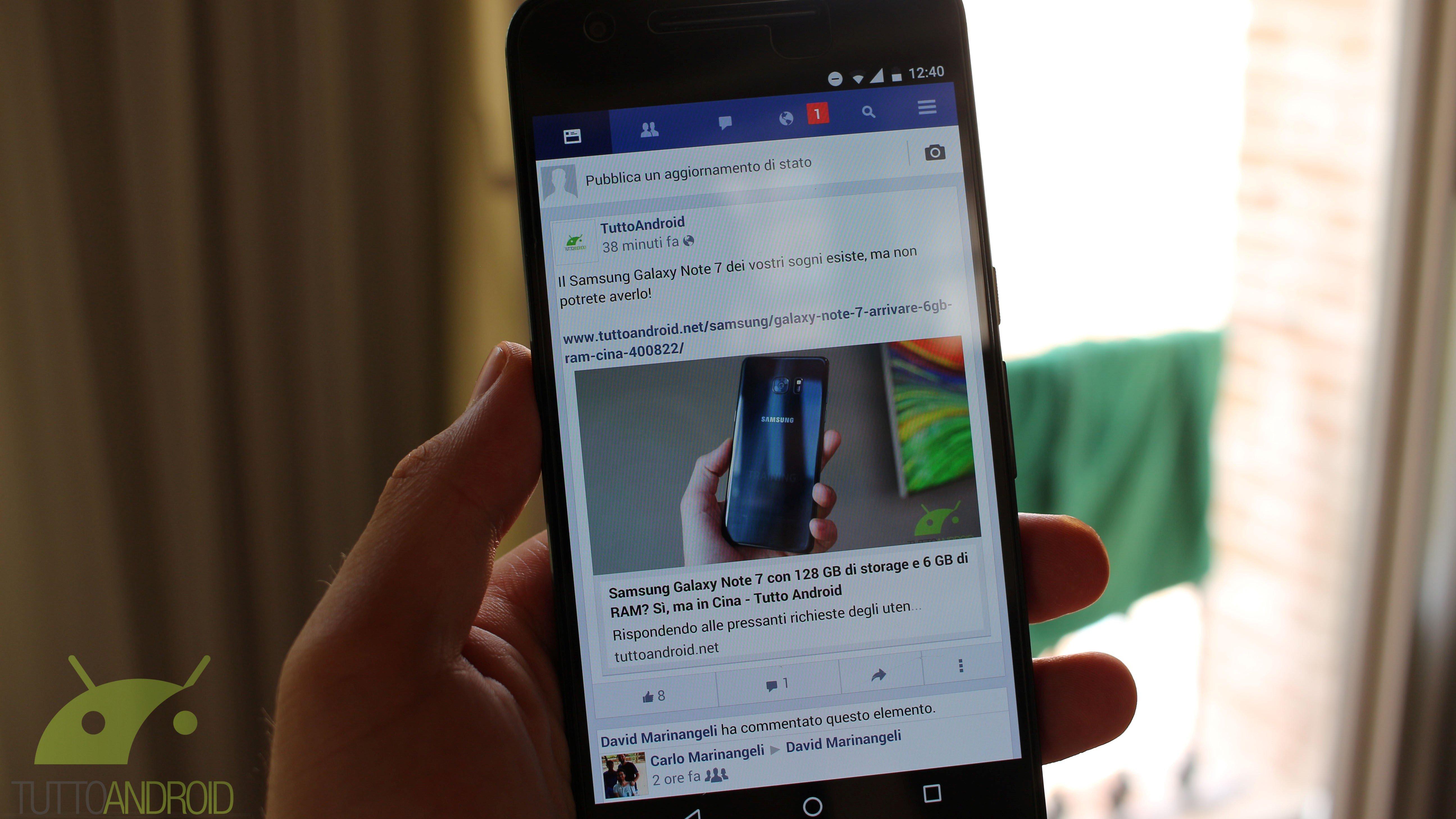 Facebook Lite si aggiorna in beta alla versione 16.0.0.1.143 (download APK)