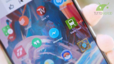 Facebook Messenger abbandona i bordi arrotondati e la gesture per aprire la fotocamera
