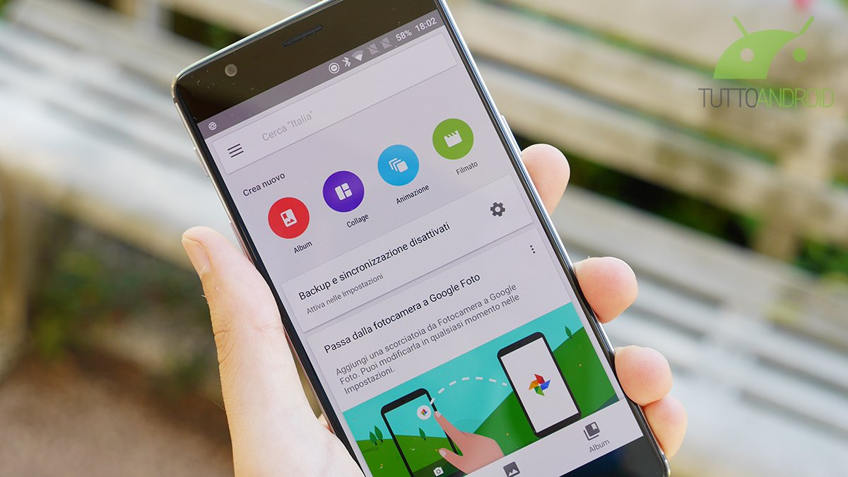 Google Foto arriva alla versione 2.4: aggiunti i filtri dinamici, nuove impostazioni di ritocco e molto altro