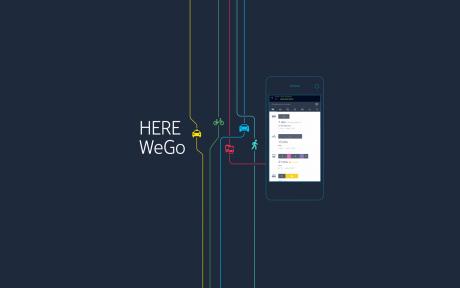 HERE WeGo copertina