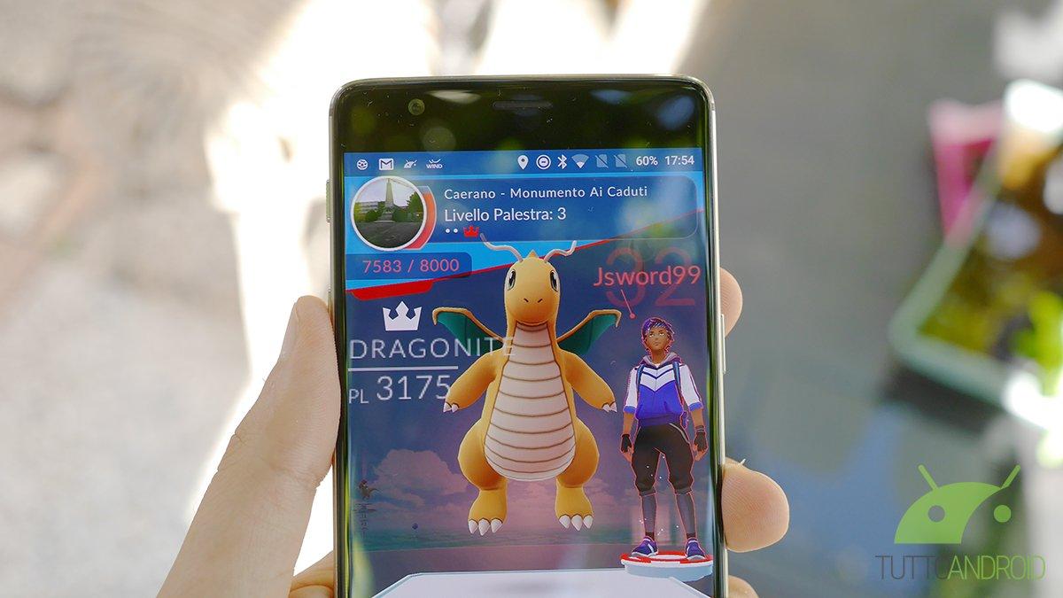 Nuovo aggiornamento per Pokémon GO