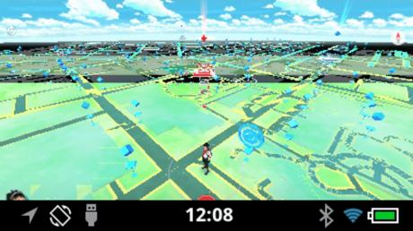Pokemon GO on Recon Jet smart eyewear