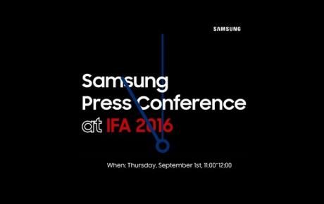 Samsung Gear S3 invito IFA