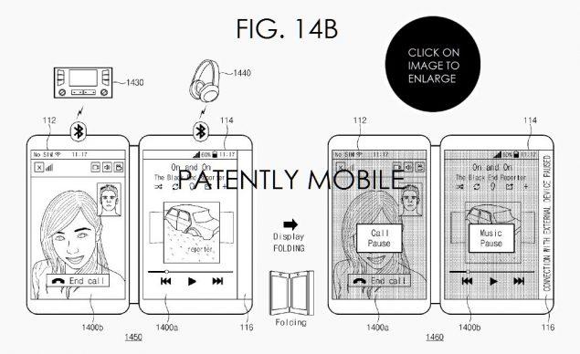Samsung brevetto pieghevole agosto 1