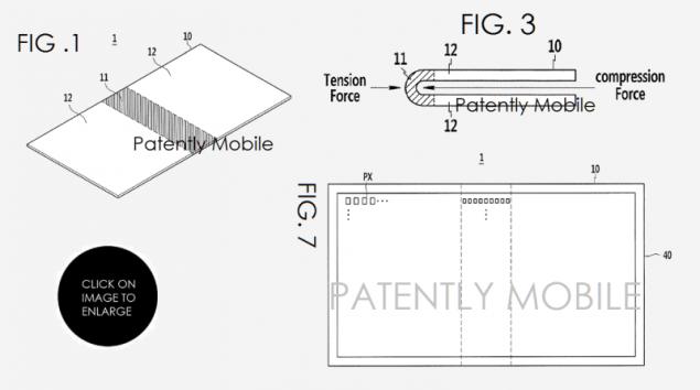 Samsung brevetto pieghevole agosto 2
