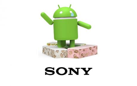 Sony no aggiornamento Nougat