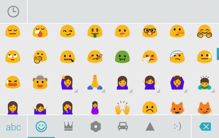 SwiftKey si aggiorna e introduce le nuove emoji di Android 7.0 Nougat