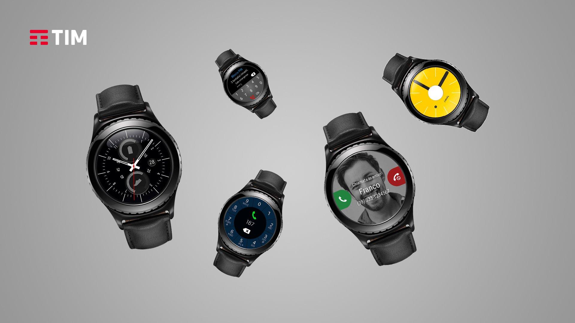 Smartwatch con eSIM in Italia proposto da TIM e Samsung