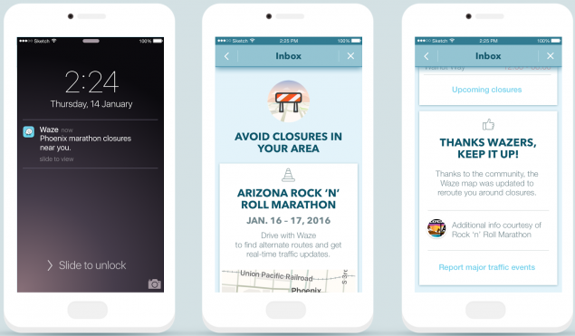 Waze-Warnings