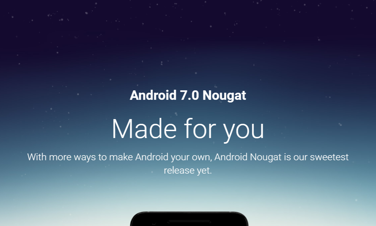 Disponibili al download le factory image di Android 7.0 Nougat