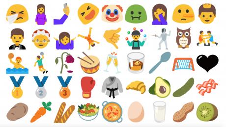 Android nougat unicode 9 emojipedia