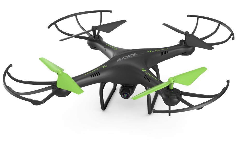 Archos presenta il suo drone low cost da 99 Euro che si collega allo smartphone