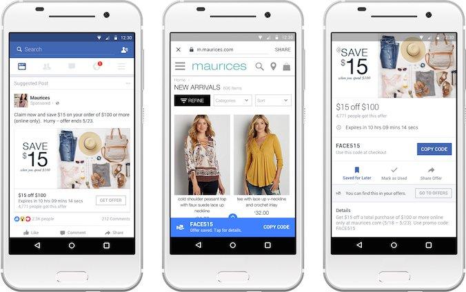 Facebook Offers torna in auge con questo aggiornamento