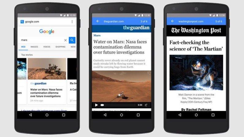 Il progetto AMP compie un anno: utenti e pagine web ringraziano Google
