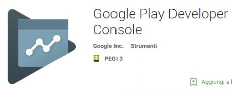 Google play developer console icon