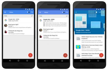 Inbox by gmail update