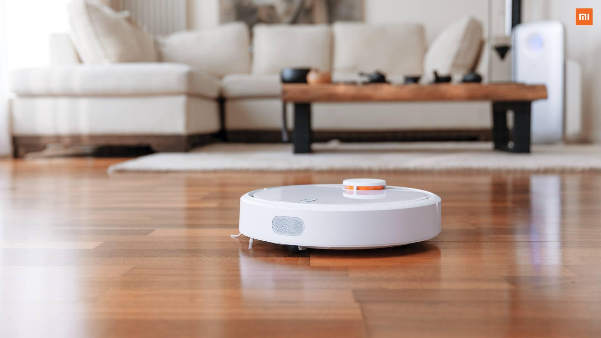 Xiaomi presenta Mi Robot Vacuum, il robot aspirapolvere controllabile dall'app