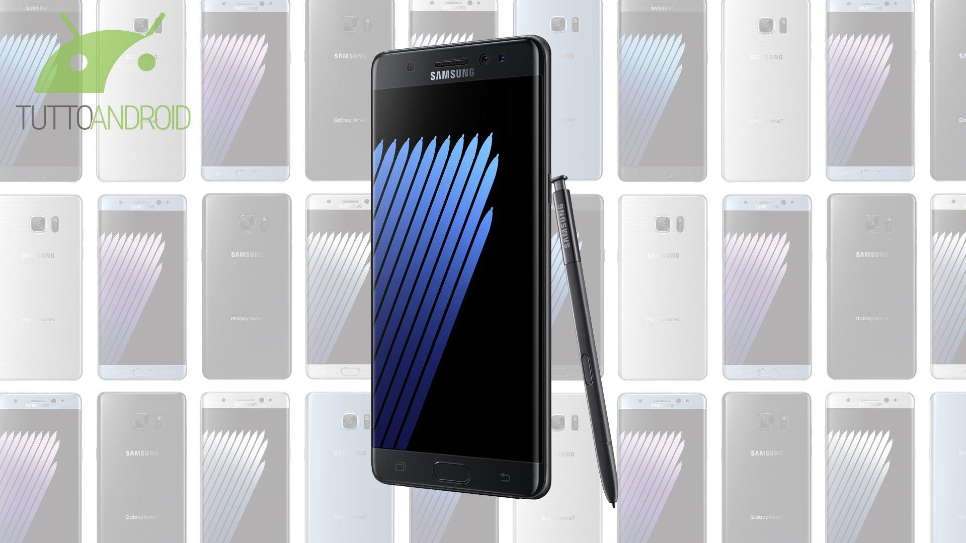 Samsung Galaxy Note 7 ufficiale: prezzo, caratteristiche e uscita in Italia